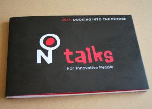 Capa da Brochura NTalks
