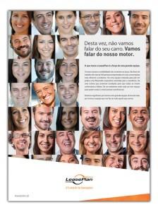 Anúncio desenvolvido para a LeasePlan com o objetivo de divulgar o recebimento do prémio Excelência no Trabalho 2014, promovido pela Heidrick & Struggles.