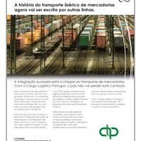 Anúncio de lançamento da Cargo-Logistics Portugal