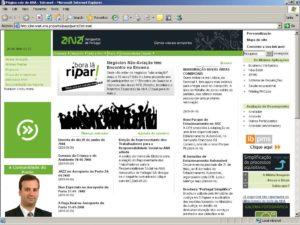 Intranet ANA Aeroportos de Portugal - home page