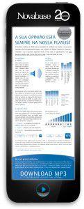 Novabase - Inquérito de satisfação, desenvolvido pela Hamlet - Comunicação de Marketing B2B
