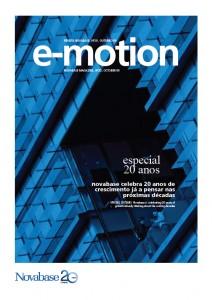 E-motion - revista institucional da Novabase, produzida pela Hamlet