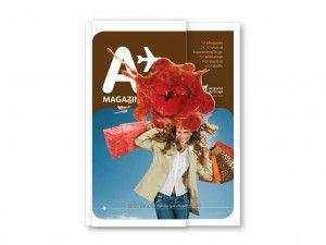 Uma imagem surpreendente na capa da A Magazine