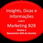 Assine a newsletter B2B da Hamlet