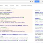 Em qualquer pesquisa do Google, os Adwords são os pequenos anúncios do lado direito ou no início da página, sobre fundo mais escuro.