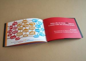 Interior da brochura NTalks