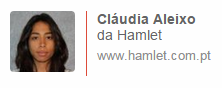 Claudia Aleixo, da Hamlet